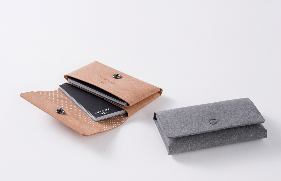 Business Card Holder 2Pockets シームレス名刺入れ2ポケット画像