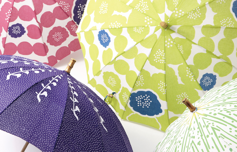 日傘 手染め注染日傘(スレン仕様)画像