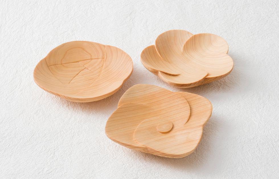 mocca〈杢花〉 / らんま職人の花小皿セット画像